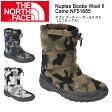 ノースフェイス THE NORTH FACE ブーティー ヌプシ ブーティー ウール II カモ(ユニセックス) Nuptse Bootie Wool II Camo NF51685 【NF-FOOT】