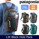 パタゴニア Patagonia ライトウェイト・ブラックホール・パック 26L 49050 【カバン】日本正規品 リュック デイパック バックパック
