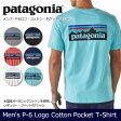 【メール便発送・代引き不可】 パタゴニア Patagonia Tシャツ メンズ・P-6ロゴ・コットン・ポケット・Tシャツ M's P-6 Logo Cotton Pocket T-Shirt 38910 【服】Tシャツ アウトドア フェス ファッション【t-cnr】