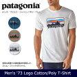 【メール便発送・代引き不可】 パタゴニア Patagonia Tシャツ メンズ・'73 ロゴ・コットン/ポリ・Tシャツ M's '73 Logo Cotton/Poly T-Shirt 39061 【服】Tシャツ アウトドア フェス ファッション【t-cnr】