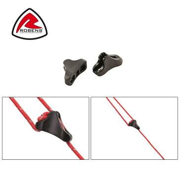 ROBENS ローベンス テントアクセサリー Guyline Lock 2.5mm 6pcs. ガイラインロック 2.5mm 6コ入り ROB690193 【TENTARP】【TZAK】ロープ 自在 アウトドア キャンプ テント タープ