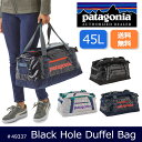 パタゴニア Patagonia ダッフルバッグ Black Hole Duffle 45L ブラックホール・ダッフル 45L 49337 【カバン】旅行 トラベル 出張 日本正規品
