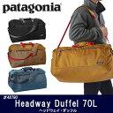 2016年モデル 日本正規品 パタゴニア Patagonia ダッフルバッグ Headway Duffel 70L ヘッドウェイ・ダッフル 70L 48790