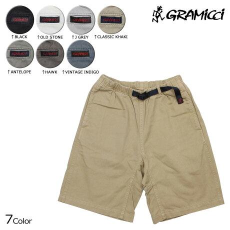 グラミチ GRAMICCI グラミチショーツ クライミングショーツ ショートパンツ 7カラー ORIGINAL G SHORTS メンズ