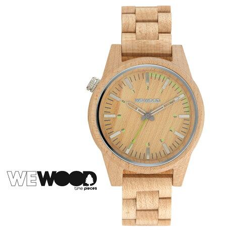WEWOOD 腕時計 メンズ レディース ウィーウッド PAAR 46 ベージュ BEIGE パール