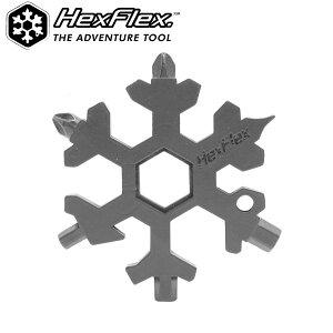 ヘックスフレックスHexFlex六角レンチレンチ工具セットエンドレンチマルチツールプラスドライバーマイナスドライバー栓抜きスキースノボスノーボードスケボー自転車キャンプ登山雪山アウトドアあす楽