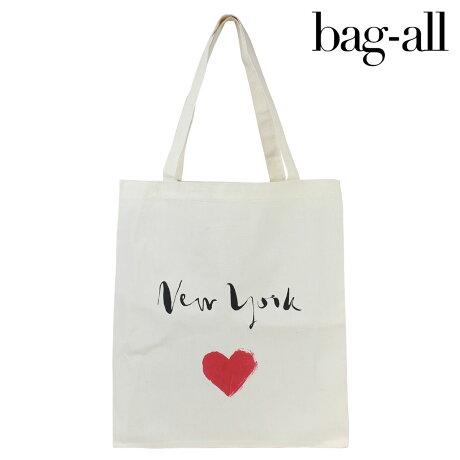 Bag-all バッグオール バッグ レディース トートバッグ エコバッグ NEW YORK HEART TOTE 【決算セール】