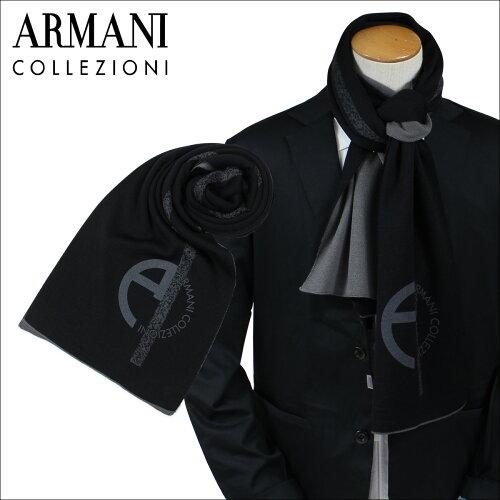 アルマーニ マフラー メンズ ARMANI COLLEZIONI コレツィオーニ イタリア製 ビジネス カジュアル MADE IN ITALY [11/2 新入荷]