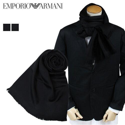 エンポリオ アルマーニ マフラー メンズ EMPORIO ARMANI ウール スカーフ ストール [11/2 新入荷]