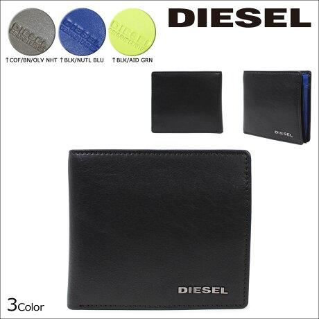 ディーゼル 財布 メンズ DIESEL 二つ折り HIRESH S X03363 PR013