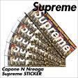 [最大2000円OFFクーポン] シュプリーム Supreme ステッカー シール CAPONE N NOREAGA メンズ レディース [ネコポス可]