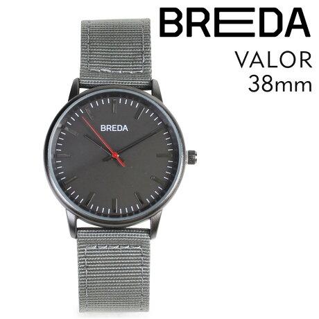 ブレダ BREDA 腕時計 38mm メンズ 時計 バロー VALOR 1707A ガンメタル/グレー