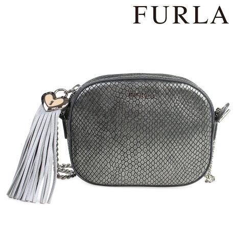 フルラ FURLA バッグ ショルダー ハンドバッグ レディース グレー SOFT 830348