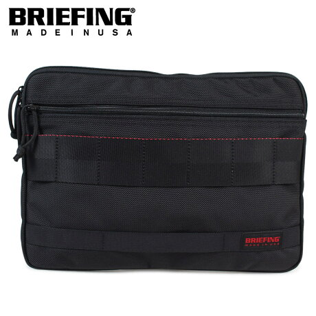 ブリーフィング BRIEFING バッグ クラッチバッグ メンズ A4 CLUCH ブラック 黒 BRF488219