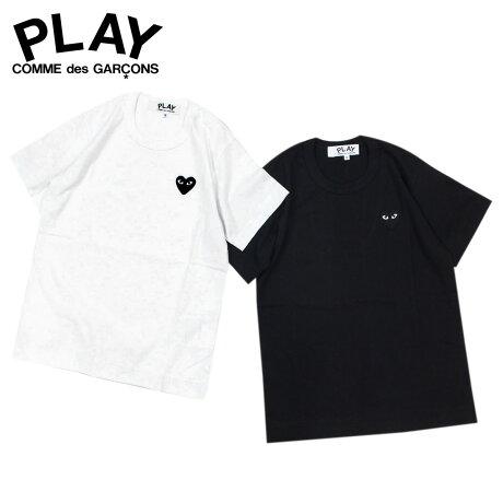 コムデギャルソン PLAY COMME des GARCONS Tシャツ レディース 半袖 BLACK HEART T-SHIRT ブラック ホワイト AZ-T063 [予約商品 3/19頃入荷予定 追加入荷]