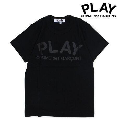 コムデギャルソン PLAY COMME des GARCONS Tシャツ レディース 半袖 PLAY T-SHIRT ブラック AZ-T187 [予約商品 3/19頃入荷予定 追加入荷]