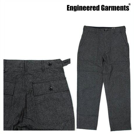 エンジニアードガーメンツ ENGINEERED GARMENTS パンツ メンズ ファティーグパンツ FATIGUE PANT F7F0659 グレー