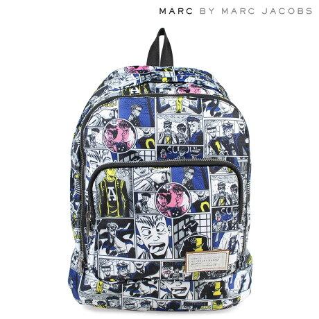 マークバイマークジェイコブス MARC BY MARC JACOBS バッグ リュック レディース バックパック M0006405 CARTOON BACKPACK ホワイト