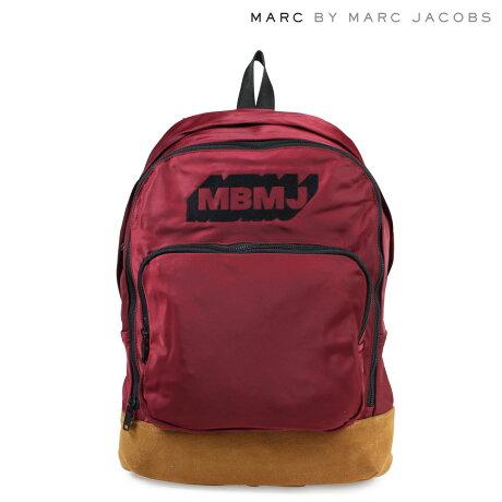 マークバイマークジェイコブス MARC BY MARC JACOBS バッグ リュック レディース バックパック M0006347 NYLON X LEATHER BACKPACK レッド
