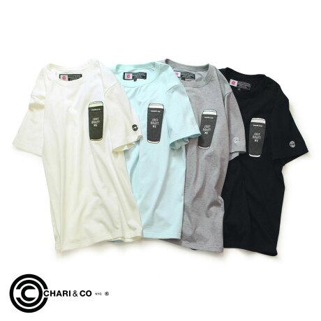 CHARI&CO NYC チャリアンドコー Tシャツ レディース 半袖 WNS BEER PKT TEE