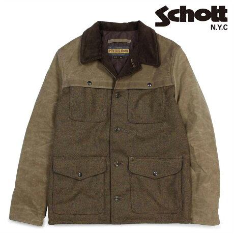 ショット Schott ジャケット フライトジャケット メンズ FLIGHT JACKET ブラウン P762