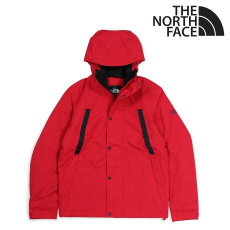 ノースフェイス THE NORTH FACE ジャケット レインジャケット メンズ MENS STETLER INSULATED RAIN JACKET レッド NF0A3EQ8