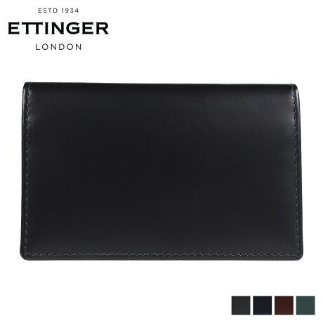 エッティンガー ETTINGER 名刺入れ カードケース メンズ BRIDLE VISITING CARD CASE ブラック ネイビー ブラウン グリーン 黒 BH143JR [3/12 再入荷]