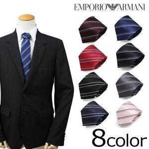 エンポリオ アルマーニ EMPORIO ARMANI ネクタイ イタリア製 シルク ビジネス 結婚式 メンズ