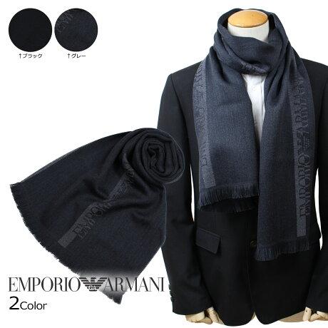 エンポリオアルマーニ EMPORIO ARMANI マフラー メンズ ウール イタリア製 ビジネス カジュアル 6250078P307 [予約 1月下旬 再入荷予定]