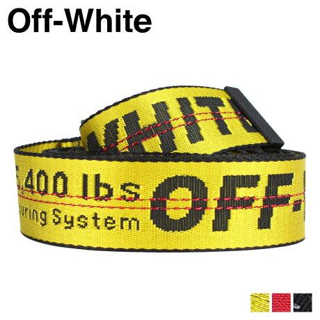 Off-white オフホワイト ベルト メンズ レディース バックル ロング INDUSTRIAL BELT ブラック レッド イエロー OMRB012 647004 [11/20 新入荷]