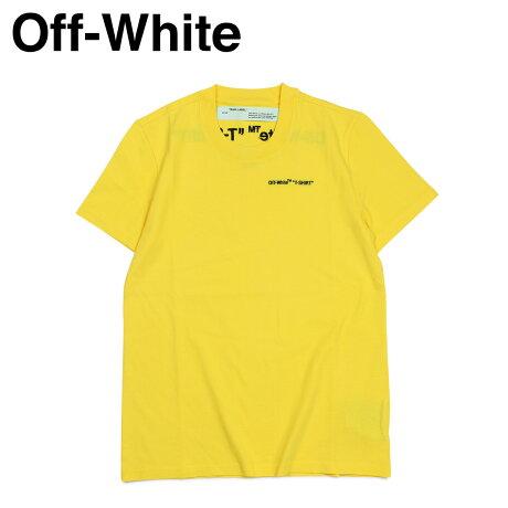 Off-white オフホワイト Tシャツ 半袖 レディース メンズ LOGO T-SHIRTS イエロー OWAA049 B07034 [11/19 新入荷]