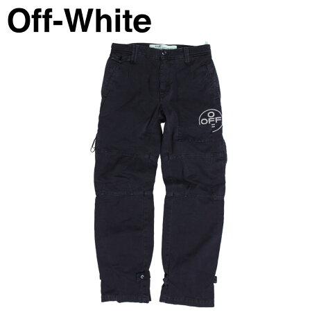 Off-white オフホワイト パンツ メンズ カーゴパンツ TAPERED COTTON CARGO TROUSERS ブラック OMCG007 515021 [11/19 新入荷]