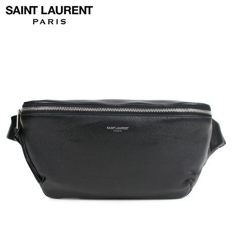 サンローラン パリ SAINT LAURENT PARIS ボディバッグ ベルトバッグ メンズ レディース BODY BAG ブラック 505671 0X52E [予約商品 2/22頃入荷予定 新入荷]
