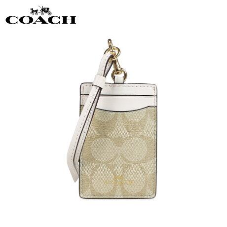 コーチ COACH パスケース カードケース 定期入れ レディース ライトカーキ F63274 [3/5 新入荷]