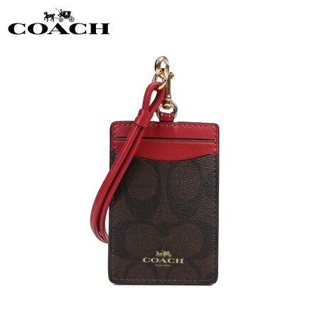コーチ COACH パスケース カードケース 定期入れ レディース ブラウン F63274 [3/5 新入荷]