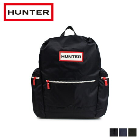 ハンター HUNTER リュック バッグ バックパック レディース メンズ ORIGINAL NYLON BACKPACK ブラック ネイビー ダークオリーブ UBB6017ACD [2/20 新入荷]