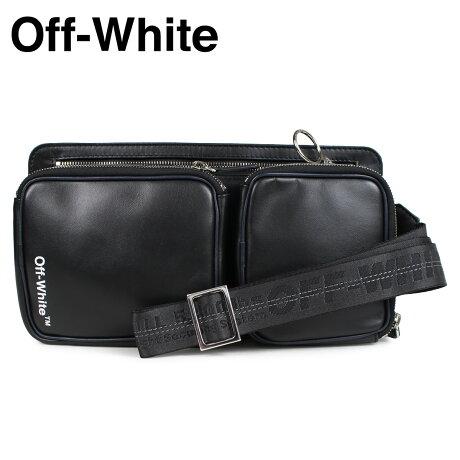 Off-white オフホワイト ショルダーバッグ ヒップバッグ メンズ レディース HIP BAG ブラック OMNA048 1001 [予約商品 2/22頃入荷予定 新入荷]