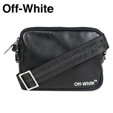 Off-white オフホワイト バッグ ショルダーバッグ メンズ レディース CROSSBODY BAG ブラック OMNA049 1001 [予約商品 2/22頃入荷予定 新入荷]