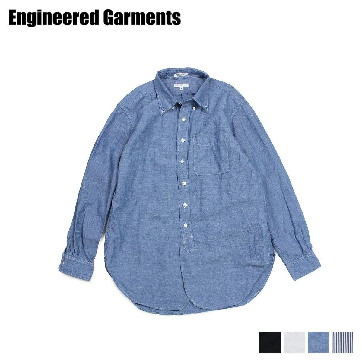 トップス, カジュアルシャツ 600OFF ENGINEERED GARMENTS 19 CENTURY BUTTON DOWN SHIRT 19SA001