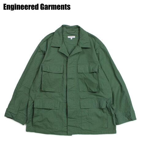 エンジニアドガーメンツ ENGINEERED GARMENTS ジャケット ミリタリージャケット メンズ BDU JACKET オリーブ 19SD002 [3/28 新入荷]