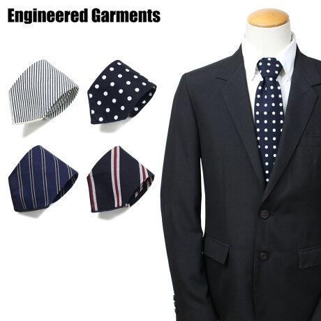 エンジニアドガーメンツ ENGINEERED GARMENTS ネクタイ メンズ ストライプ ドット NECK TIE ネイビー 19SH006 [3/29 新入荷]