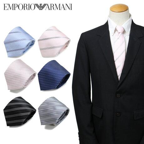 エンポリオ アルマーニ EMPORIO ARMANI ネクタイ メンズ イタリア製 シルク ビジネス 結婚式 [3/22 新入荷]