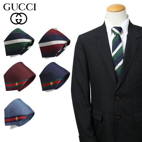 グッチ GUCCI ネクタイ メンズ イタリア製 シルク ビジネス 結婚式 [3/25 新入荷]