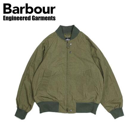 バブアー Barbour エンジニアードガーメンツ ENGINEERED GARMENTS ジャケット ボンバージャケット メンズ アービングジャケット IRVING JACKET コラボ カーキ MCA0598GN31 [3/28 新入荷]