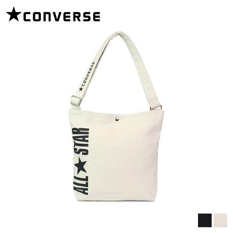 コンバース CONVERSE オールスター バッグ ショルダーバッグ メンズ レディース ALL STAR SHOULDER BAG ブラック オフ ホワイト 黒 C1957053 [8/1 新入荷]