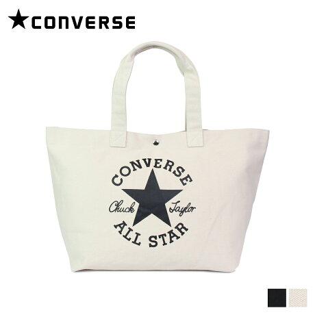 コンバース CONVERSE オールスター バッグ トートバッグ メンズ レディース ALL STAR TOTE BAG ブラック オフ ホワイト 黒 C1957071 [8/1 新入荷]