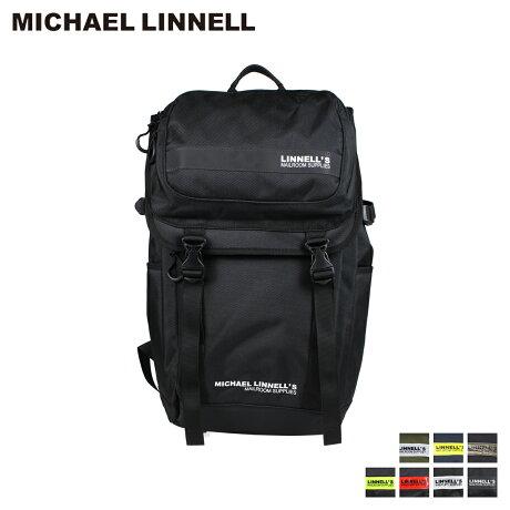 マイケルリンネル MICHAEL LINNELL リュック バッグ 27L メンズ レディース バックパック DOUBLE DECKER ブラック ネイビー カーキ 黒 ML-018