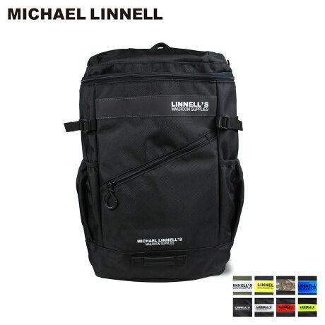 マイケルリンネル MICHAEL LINNELL リュック バッグ 32L メンズ レディース バックパック BOX BACKPACK ブラック ネイビー カーキ 黒 ML-020