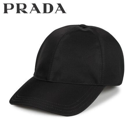 プラダ PRADA キャップ 帽子 ベースボールキャップ メンズ レディース BASEBALL CAP ブラック 黒 2HC2742B15 [10/9 新入荷]