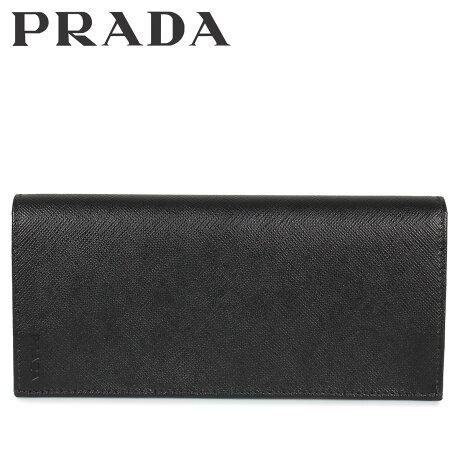 プラダ PRADA 財布 長財布 メンズ サフィアーノ VERTICAL WALLET ブラック 黒 2MV836053 [10/8 新入荷]